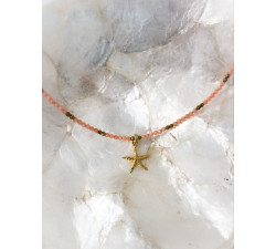 Drobny naszyjnik rozgwiazda - Starfish
