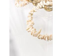 Bransoletka toggle, koral naturalny - Coral Beige