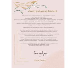 Srebrny naszyjnik znak zodiaku PANNA