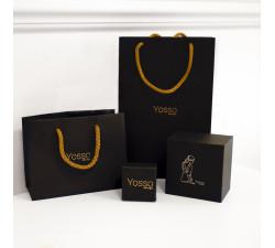 Złoty naszyjnik znak zodiaku PANNA