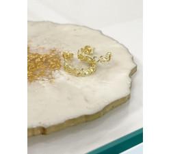 Kolczyki kółka, koła serca, wiszące serduszka sztyft srebro 925