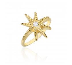 Pierścionek Starlet gold