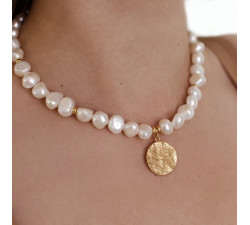 Naszyjnik Pearl Gold
