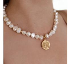 Naszyjnik z pereł naturalnych - Pearl Gold
